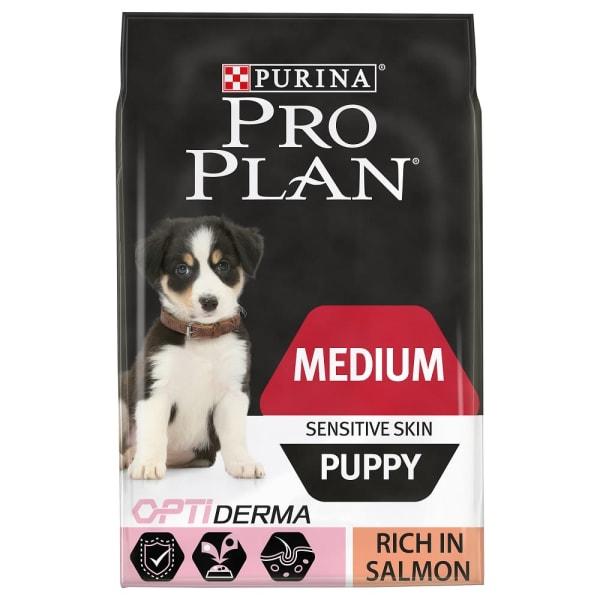 PURINA PRO PLAN Middelgrote puppy Sensitive Skin