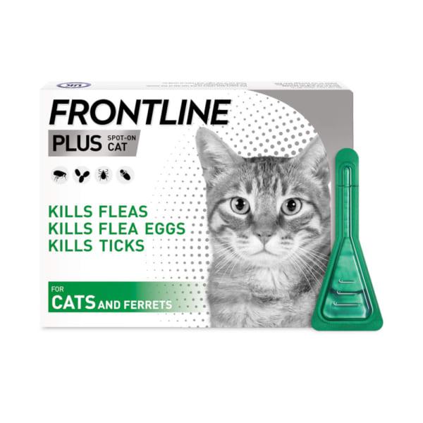 Frontline Plus Spot On Flea & Tick Treatment Cats