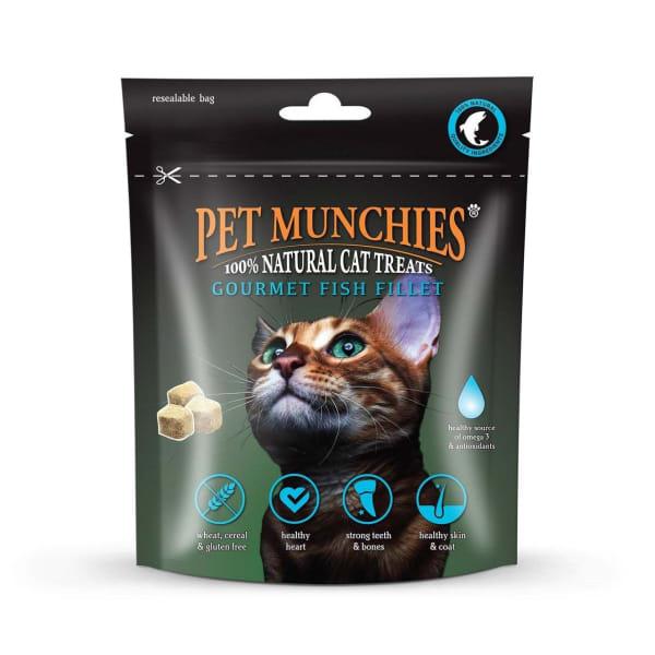 Pet Munchies Freeze Dried Adult Cat Treats - Fish Fillet