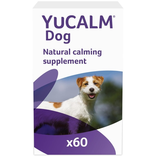 YuCalm Triple-Action Calming Supplement for Dog
