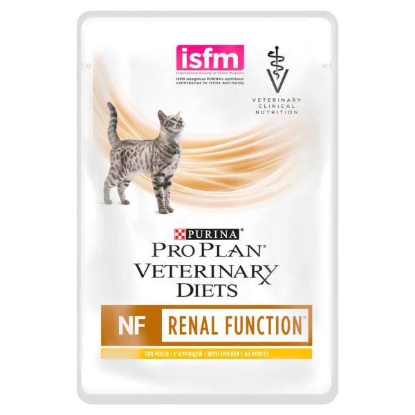 Purina Pro Plan NF St/OX Veterinair nat kattenvoer voor de ondersteuning van nierwerking (kip)
