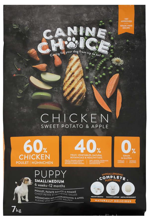 Croquettes pour chiots de petit ou moyenne taille Canine Choice
