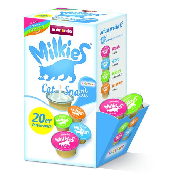 Animonda Milkies Selection Liquid Snack für Katzen