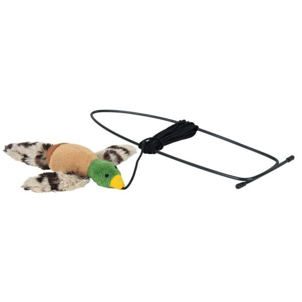 TRIXIE Vliegende Vogel Kattekruid-speeltje voor Deurkozijn