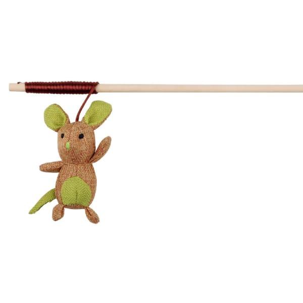 Perche de jeu avec souris à l'herbe à chat Trixie