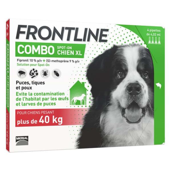 Frontline Combo pour Très Grand Chien (40-60kg)