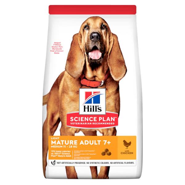 Hill's Science Plan Canine Medium Mature Adult Light Poulet