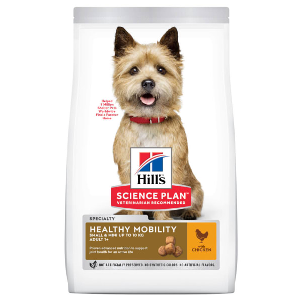 Hill's Science Plan Canine Small & Mini Adult Healthy Mobility Huhn