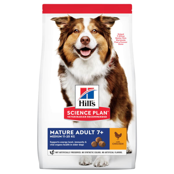 Hill's Science Plan Canine Medium Mature Adult Poulet