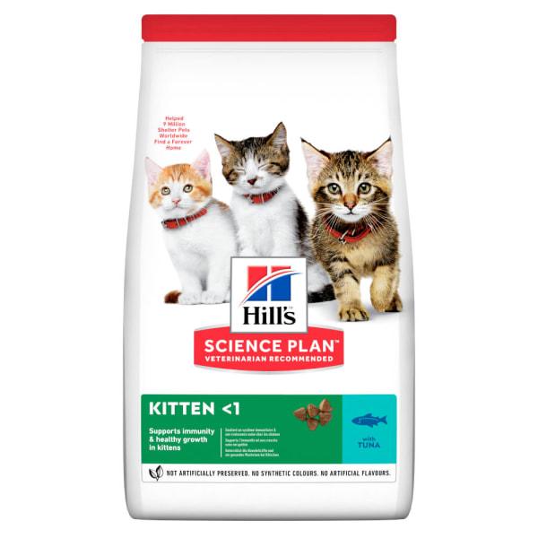 Hill's Science Plan Kitten <1 Dry Food Thunfisch