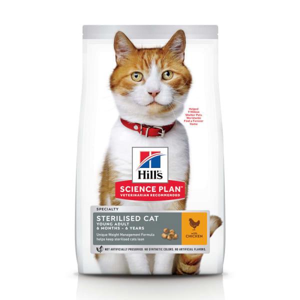 Hill's Science Plan Feline Young Adult Sterilised Cat Kip