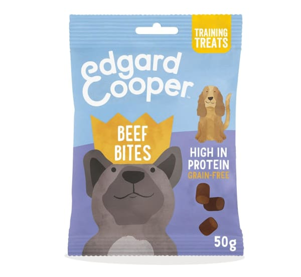 Edgard & Cooper Good Boy Grain Free Dog Treats - Beef Bites