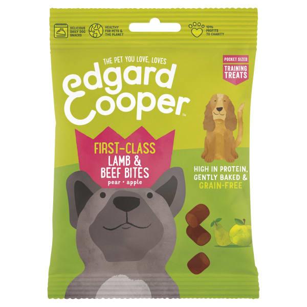 Edgard & Cooper First-Class Grain Free Dog Treats - Lamb & Beef Bites