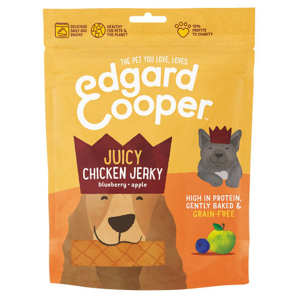 Edgard & Cooper Grain Free Dog Treats - Juicy Chicken