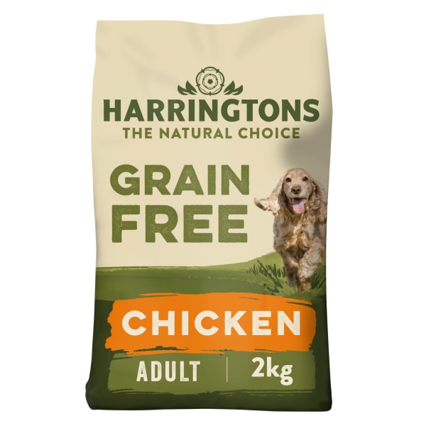 Harringtons Grain Free Adult Dry Dog Food - Chicken & Sweet Potato