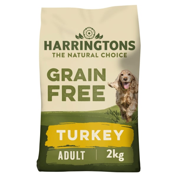 Harringtons Grain Free Puppy & Senior Dry Dog Food - Turkey & Sweet Potato