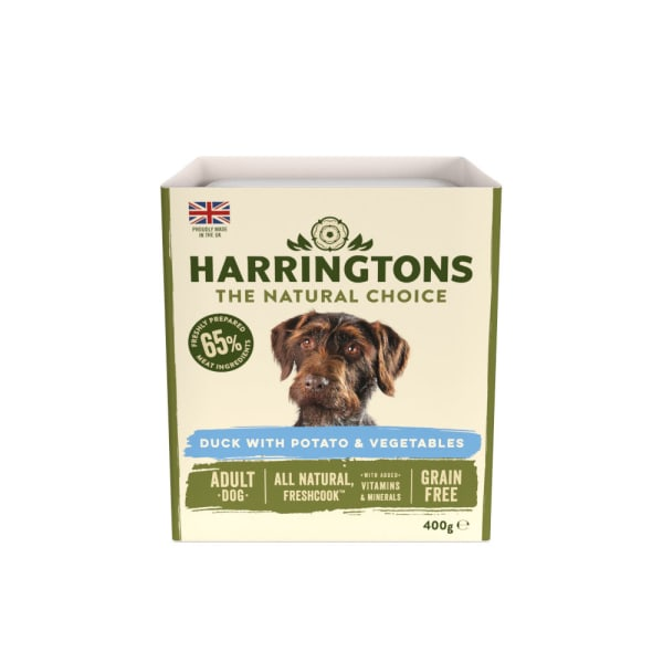 Harringtons Adult Wet Dog Food - Duck with Potato & Vegetables
