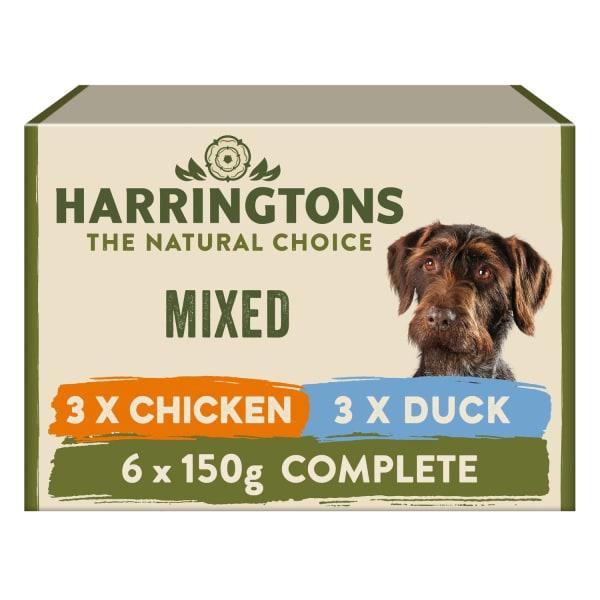 Harringtons Grain Free Adult Wet Dog Food - Mixed Pack