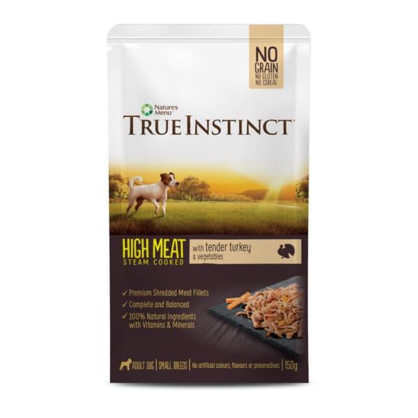 True Instinct Pouch Turkey Fillet Small Breed Dog