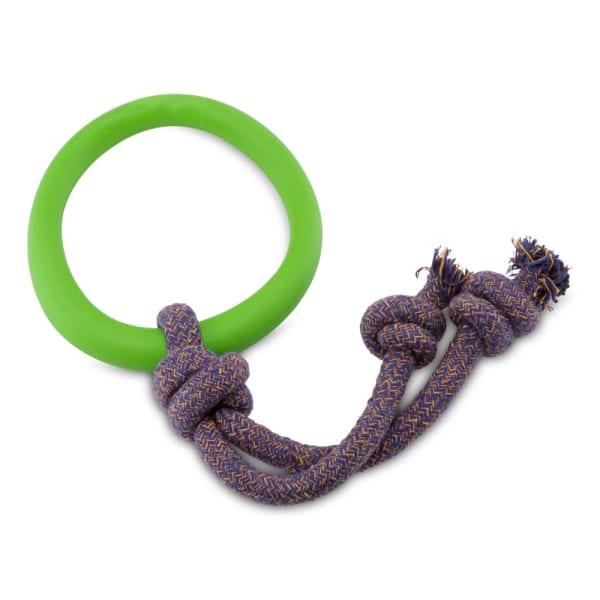 Beco Pets Hoop on Rope in Green