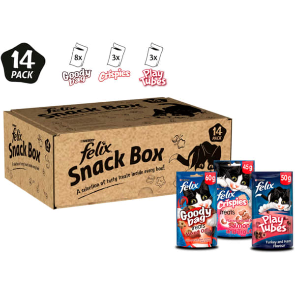 Felix Snack Box Cat Treat