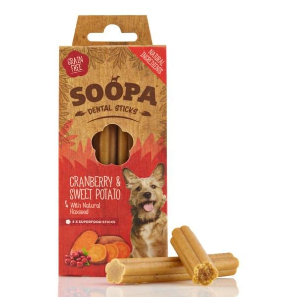 Soopa Grain Free Dental Sticks Dog Treats