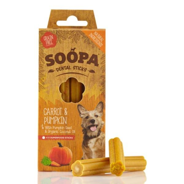 Soopa Organic Grain Free Dental Sticks Dog Treats