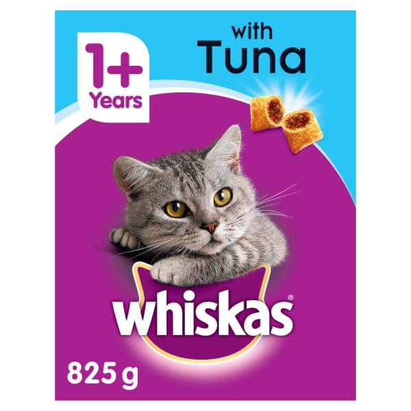 Whiskas Adult 1+ Complete Dry Cat Food - Tuna