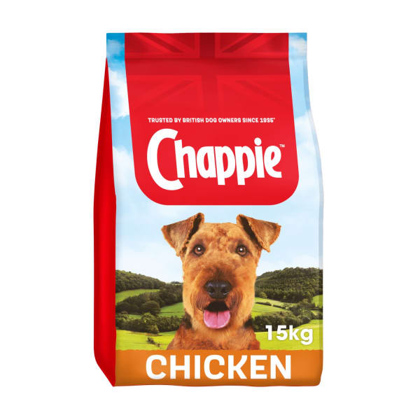 Chappie Complete Adult Dry Dog Food - Chicken & Whole Grain Cereal