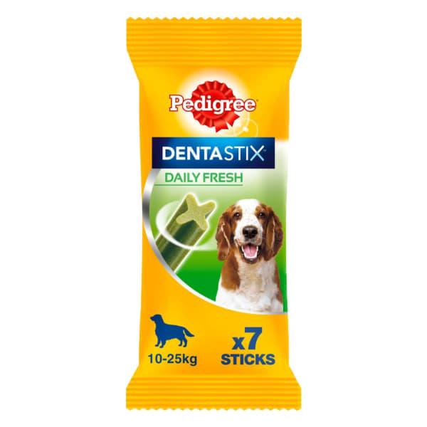 Pedigree Dentastix Fresh Daily Adult Medium Dog Dental Treats