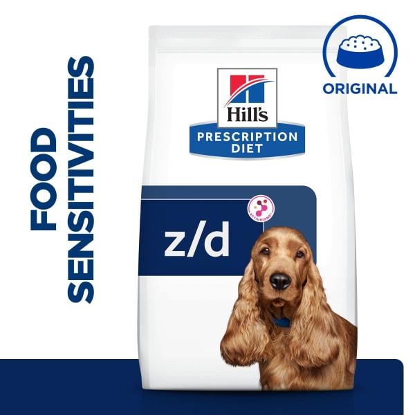 Hill's Prescription Diet Skin/Food Sensitivities z/d Dry Dog Food - Original