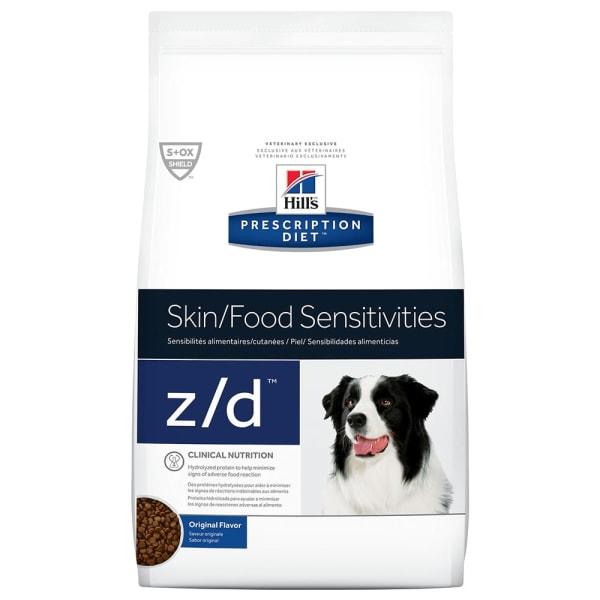 Hills Prescription Diet Skin/Food Sensitivities z/d voor honden