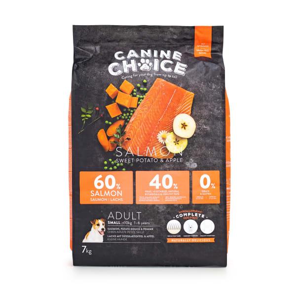 Canine Choice Grain Free Small Adult Dry Dog Food – Salmon