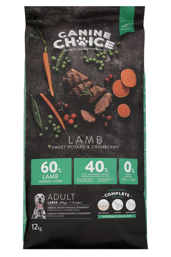 Canine Choice Adult Maxi Hundefutter - Lamm