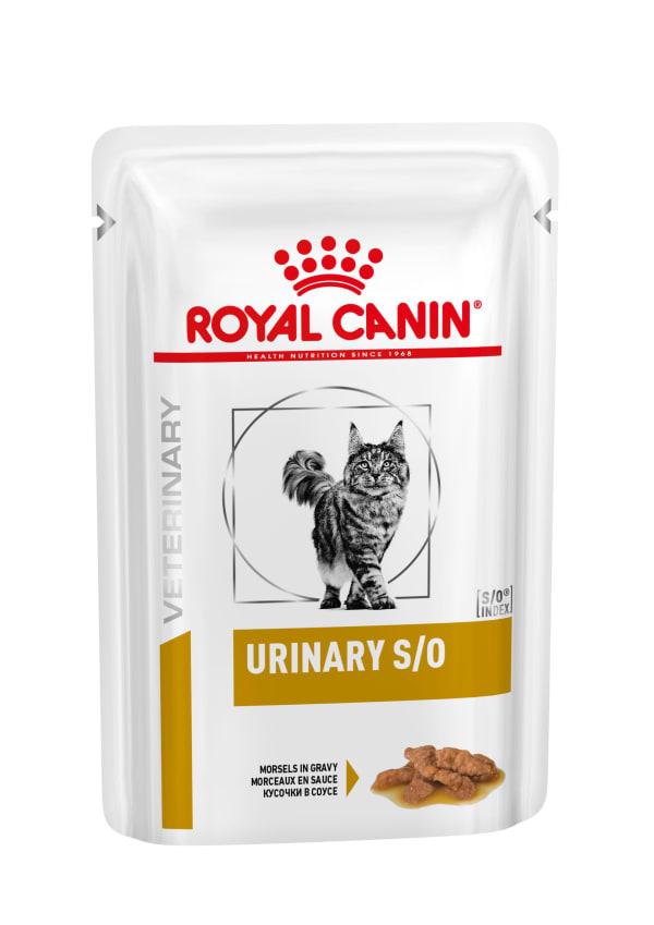 Royal Canin - Vet Diet Féline - Urinary S/O Morsels in Gravy