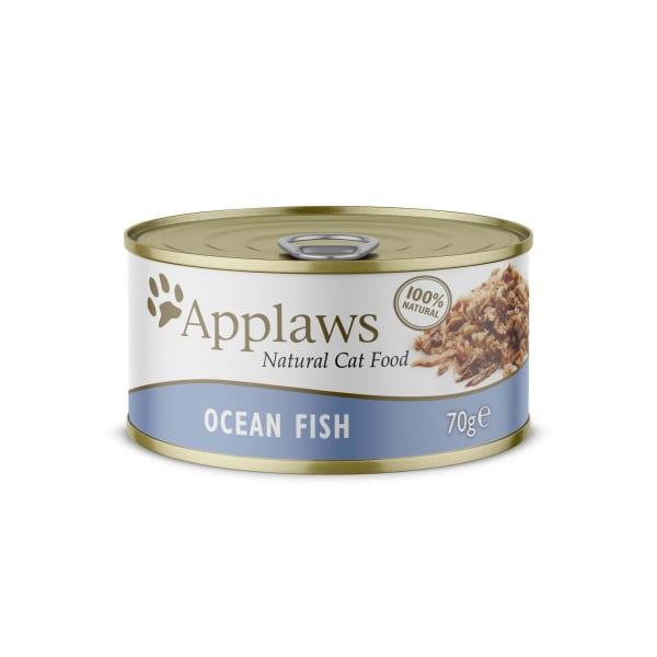Applaws Tin Adult Wet Cat Food - Ocean Fish
