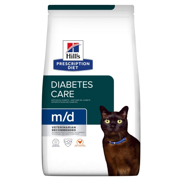 Hill's Prescription Diet Diabetes/Weight Management m/d Adult Dry Cat Food - Chicken