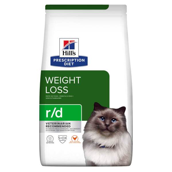 Hill's Prescription Diet Weight Reduction r/d Adult Dry Cat Food - Chicken