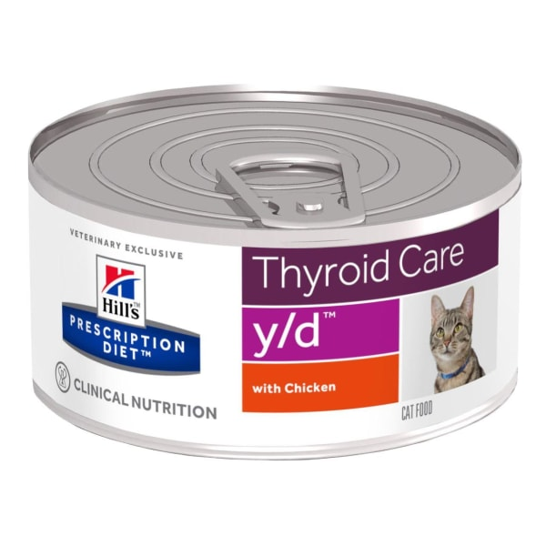 Hill's Prescription Diet Thyroid Care y/d Adult Wet Cat Food - Chicken