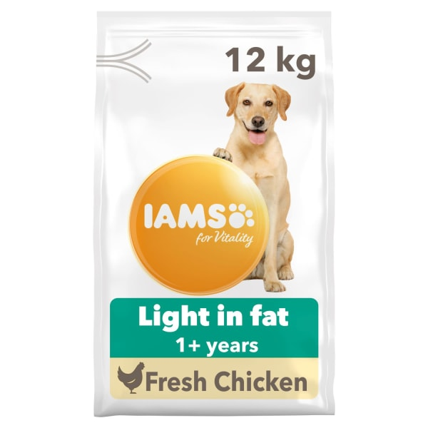 Iams for Vitality Adult Light in Fat Dry Dog Food - Chicken