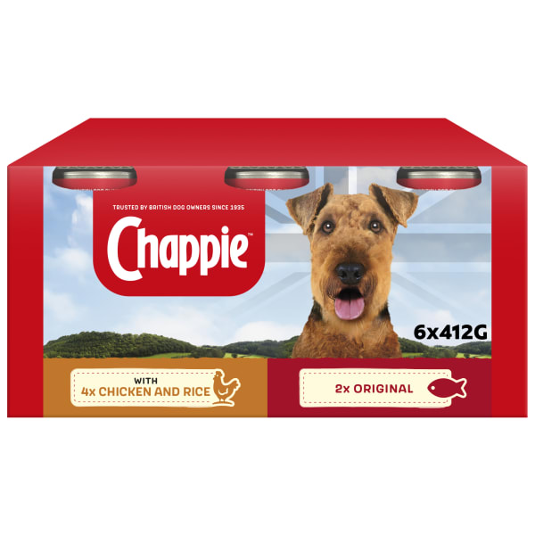 Chappie Adult Wet Dog Food Tins - Favourites Multipack