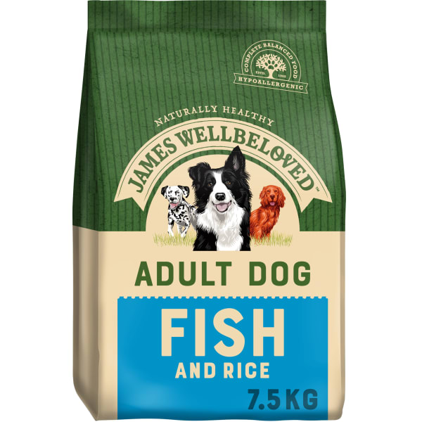 James Wellbeloved Adult Dry Dog Food - Fish & Rice