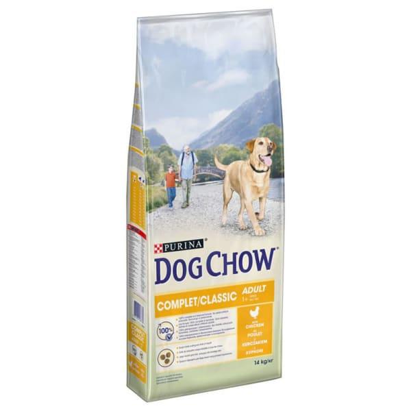 Dog Chow Chien Complet/Classic avec du Poulet