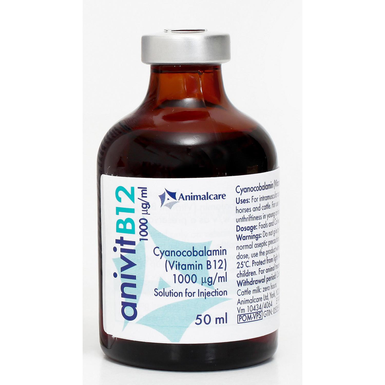 Anivit Vitamin B12 Injection   MedicAnimal.com