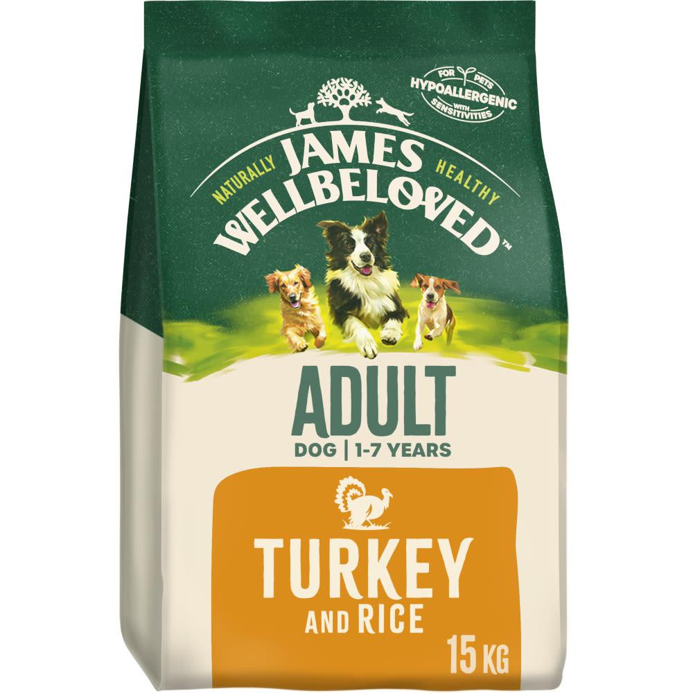 James Wellbeloved Dog Adult - Turkey & Rice
