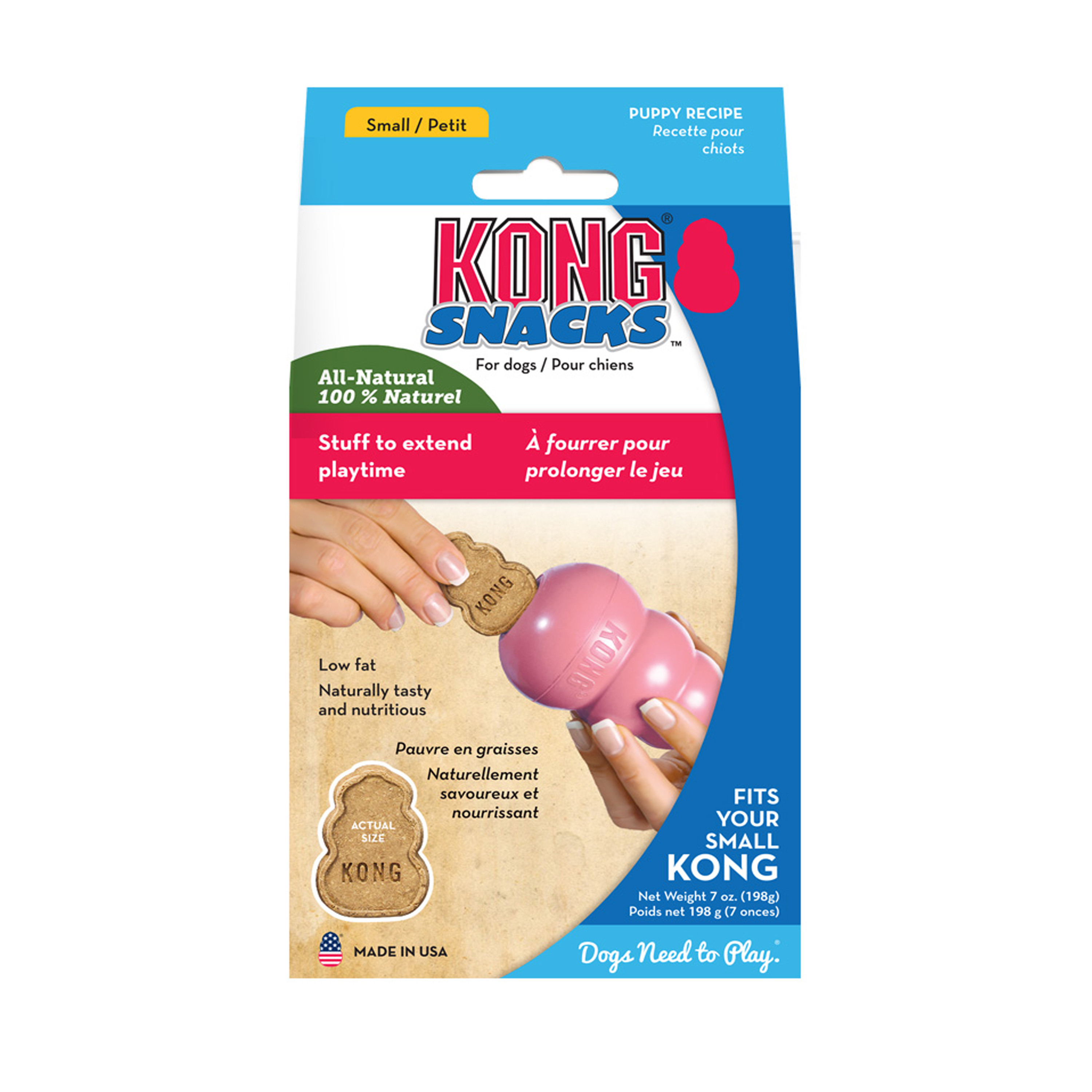 Kong Snacks Puppy Chicken and Rice Small