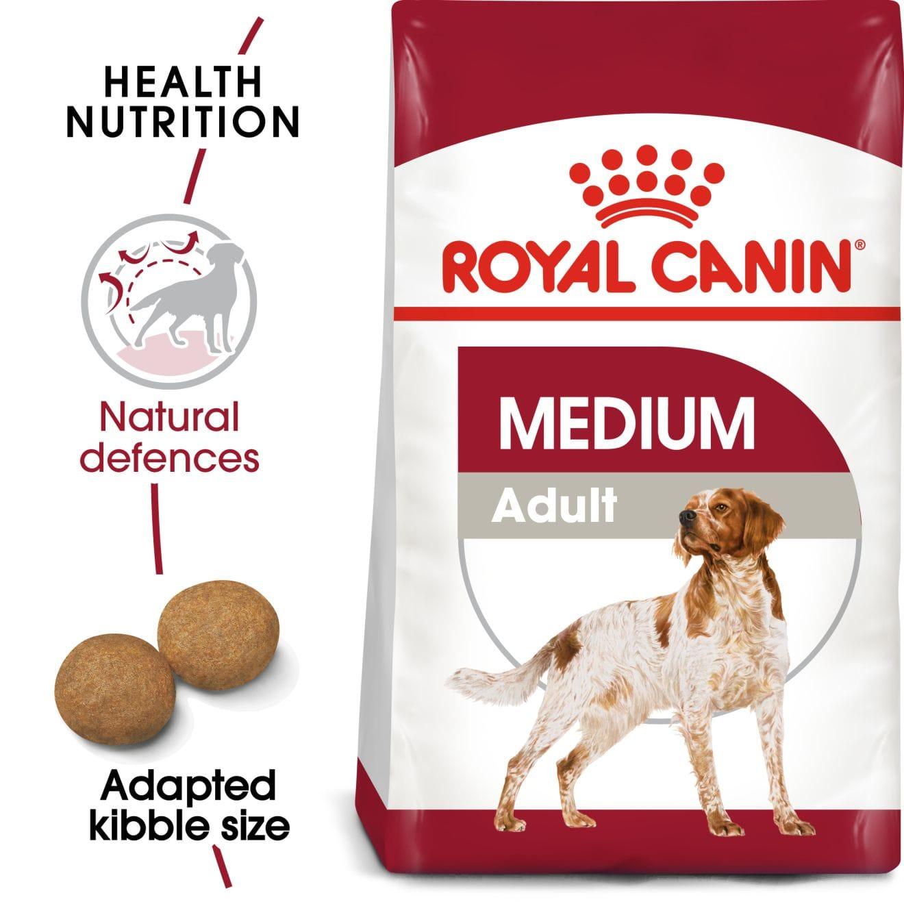 royal canin medium adult hundefutter. Black Bedroom Furniture Sets. Home Design Ideas