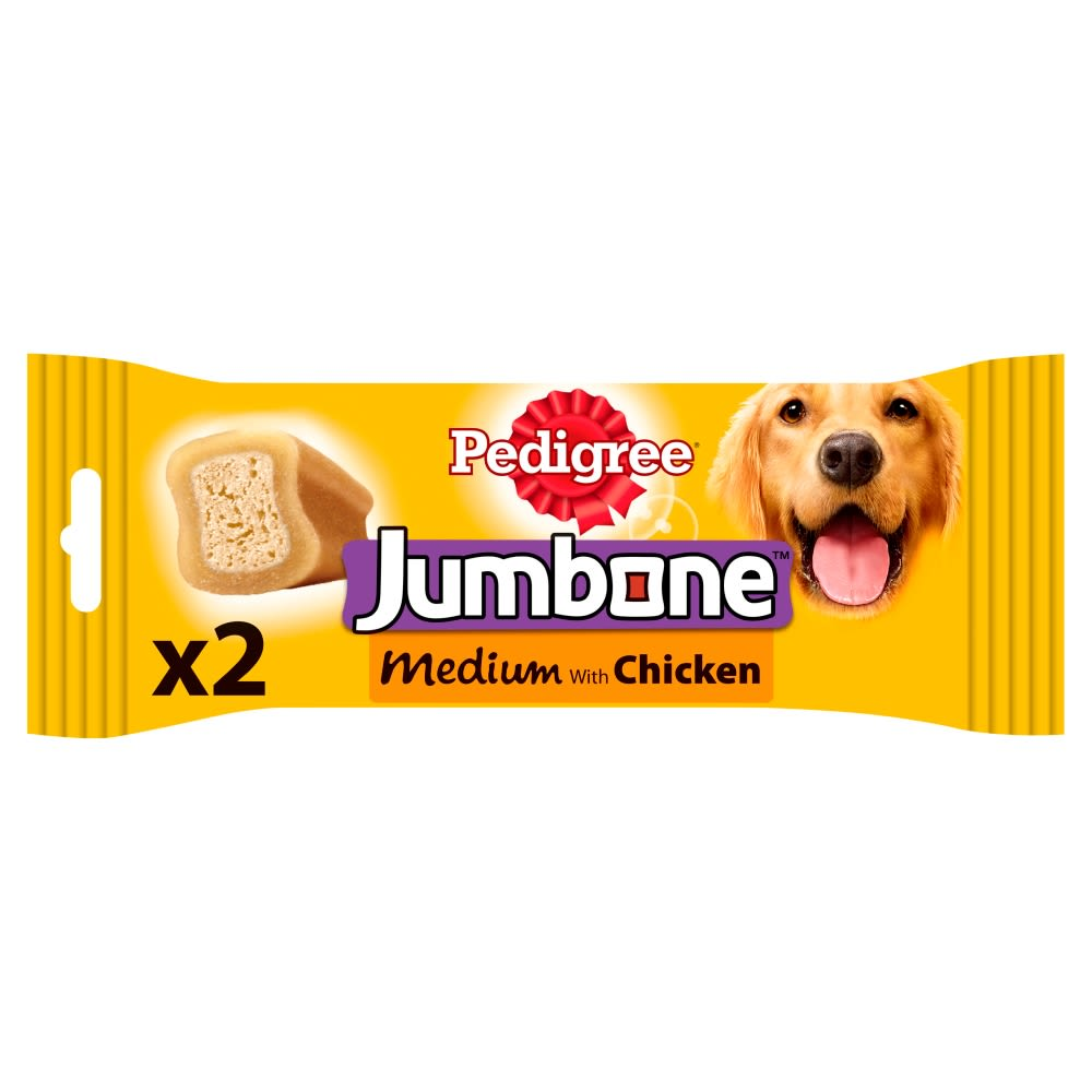 Pedigree Friandise Jumbone pour Chien de taille Moyenne