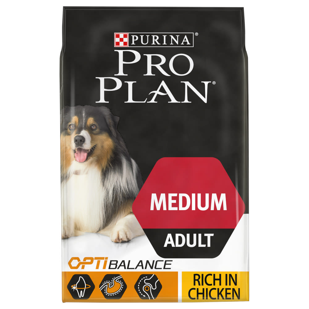 purina pro plan medium adult dog chicken. Black Bedroom Furniture Sets. Home Design Ideas