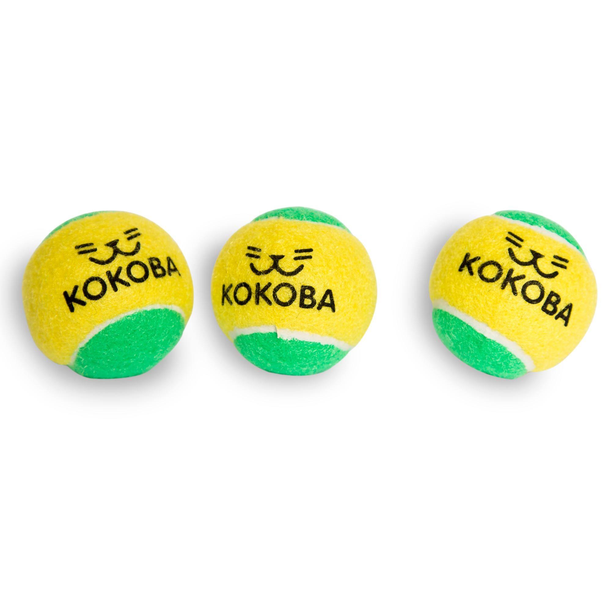 Kokoba 3 Dog Tennis Ball Toys